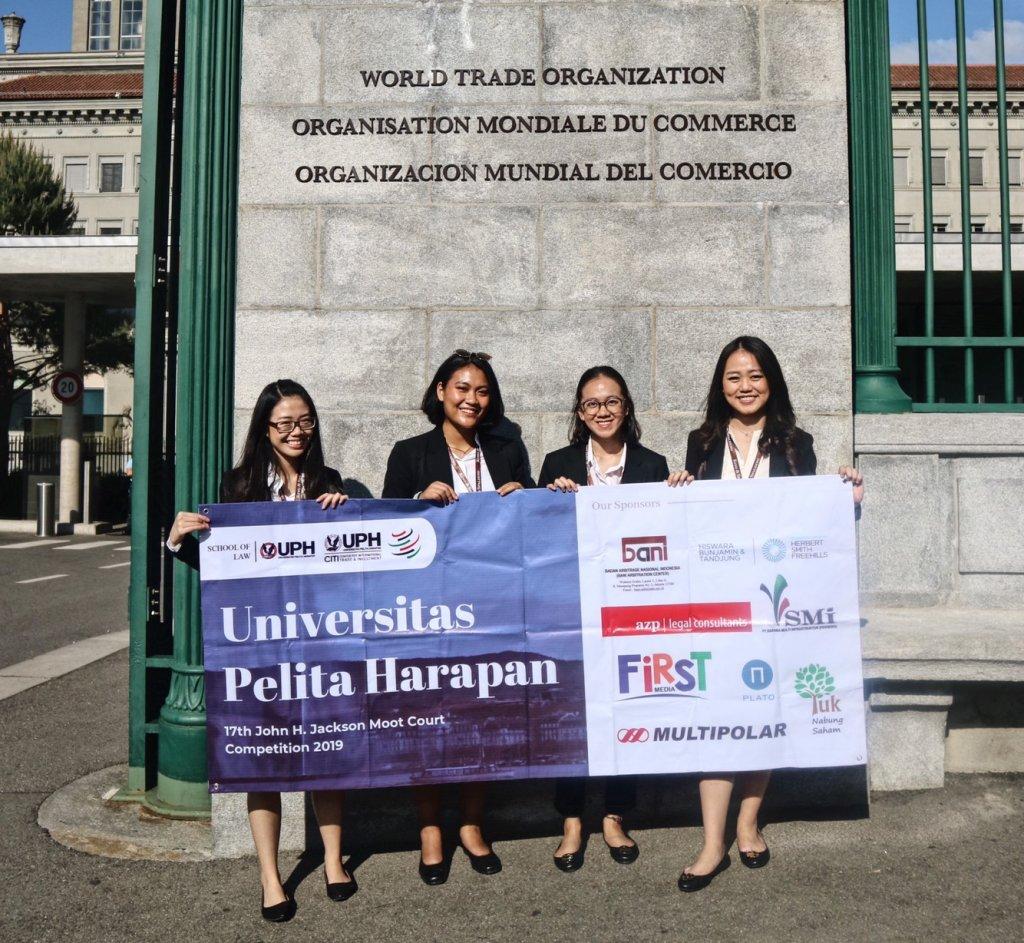 UPH's WTO Team Becomes the First Indonesian Representatives in International Rounds of John H. Jackson Moot Court Competition
