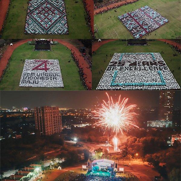 Human Configuration UPH Festival 2019 Libatkan Ribuan Mahasiswa dalam Kebinekaan Nusantara