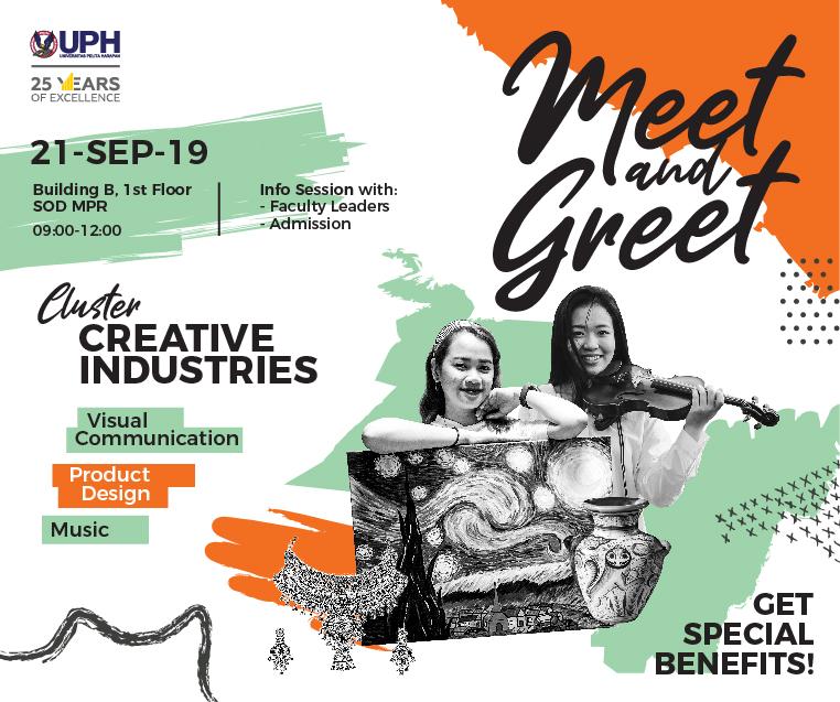 Meet & Greet 2019: Industri Kreatif