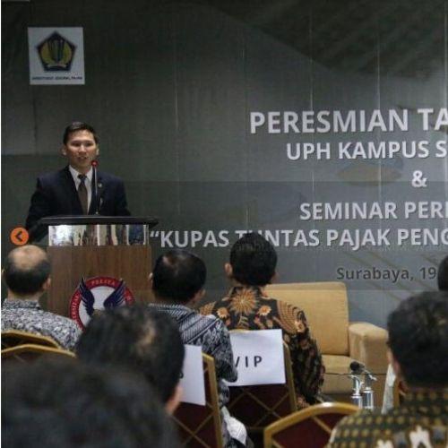Surabaya Terima Penghargaan Dukung Program Sadar Pajak kepada Mahasiswa dan Masyarakat