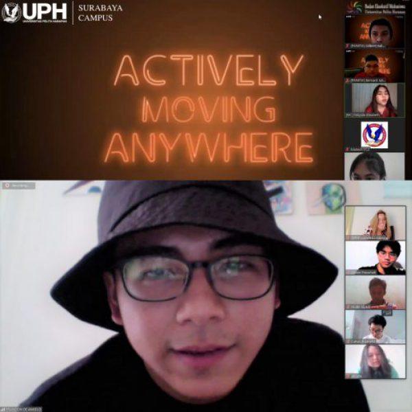 Dihadiri Brandon 'Indonesia Mencari Bakat', Ini Keseruan Virtual Dance Competition Universitas Pelita Harapan Kampus Surabaya