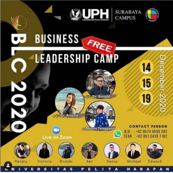 Ini 4 Alasan Kamu Harus Ikut Business Leadership Camp UPH Surabaya!