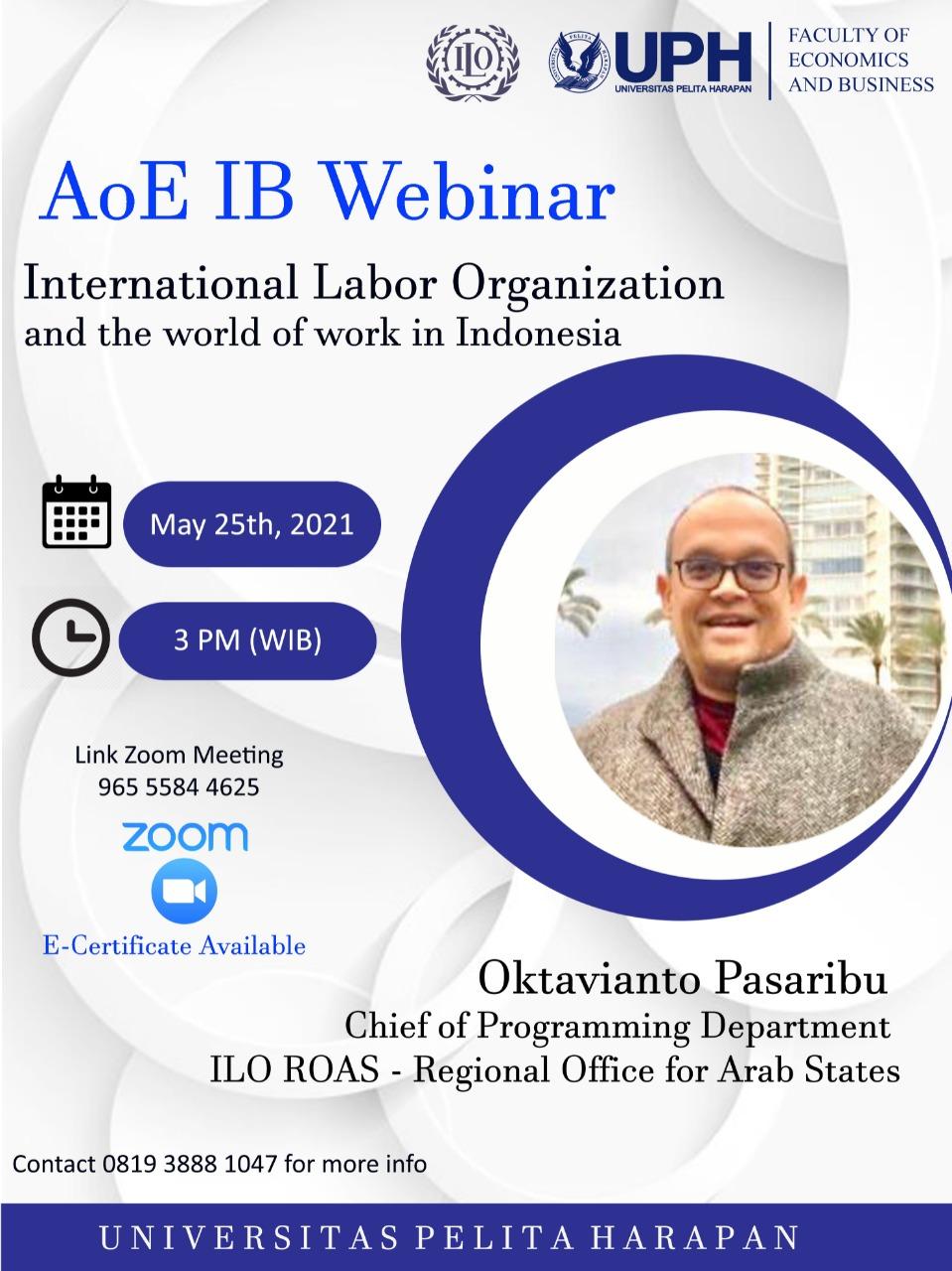AoE: International Business Webinar