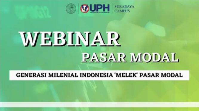 Webinar – Generasi Milenial Indonesia