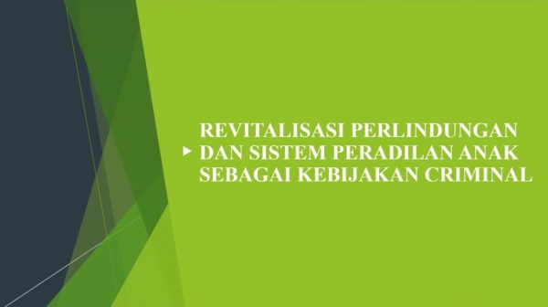 Revitalization of Criminal Cases by Child Perpetrators against Child Victims